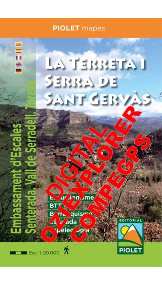 La Terreta i Serra de Sant Gervàs....