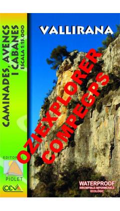 Vallirana. Caminades, avencs i cabanes. Digital CompeGps/Oziexplorer 1:15.000 1a ed