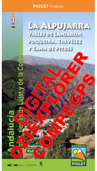 La Alpujarra. Valles de Lanjarón,...