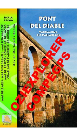 Pont del Diable Digital CompeGps/Oziexplorer 1:5.000 1a ed