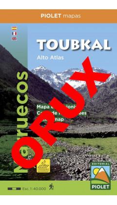 Toubkal. Alto Atlas. Marruecos. Digital OruxMaps 1:40.000 5a ed 2017