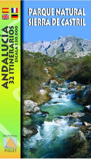 Mapa Parque Natural Sierra de Castril. Andalucía. 32 Itinerarios 1:30.000 1a ed