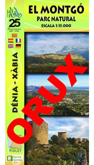 El Montgó. Parc Natural. Dénia-Xàbia. Digital OruxMaps 1:15.000 1a ed