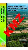 Serra de la Llena. La Pobla de Cérvoles. El Vilosell. Caminant per les Garrigues. Digital Kmz (Garmin, Google Earth) 1:20.000 1a