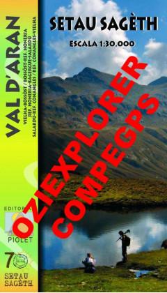 Setau Sagèth. Val d'Aran. Digital CompeGps/Oziexplorer 1:30.000 1a ed