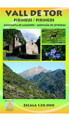 Mapa Vall de Tor. Pirineos. Montaña de leyendas 1:20.000 1a ed