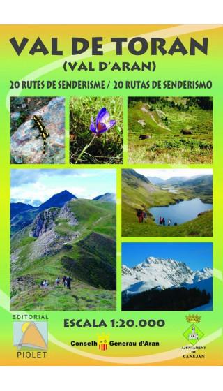 Mapa Val de Toran. Val d'Aran. 20 rutas de senderismo 1:20.000 1a ed