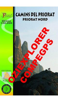 Camins del Priorat Nord. Digital CompeGps/Oziexplorer 1:30.000 1a ed