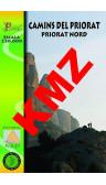 Camins del Priorat Nord. Digital Kmz (Garmin, Google Earth) 1:30.000 1a ed