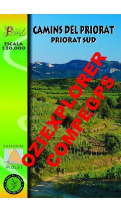Camins del Priorat Sud. Digital CompeGps/Oziexplorer 1:30.000 1a ed