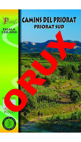 Camins del Priorat Sud. Digital OruxMaps 1:30.000 1a ed