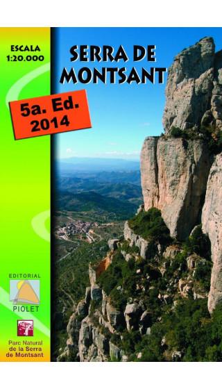 Mapa Serra de Montsant 1:20.000 5a ed