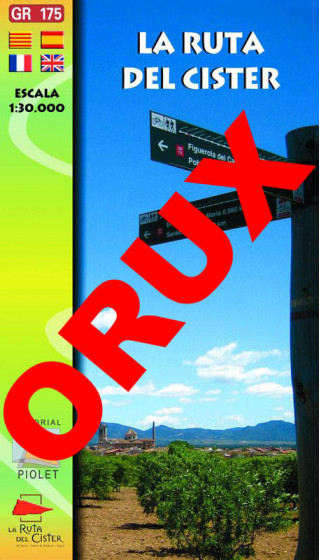 La Ruta del Cister. Digital OruxMaps 1:30.000 1a ed