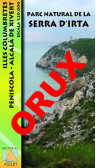 Parc Natural de la Serra d'Irta. Illes Columbretes. Peníscola, Alcalà de Xivert. Digital OruxMaps 1:20.000 1a ed