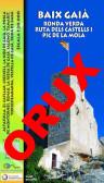 Baix Gaià. Ronda Verda, Ruta dels Castells i Pic de la Mola. Digital OruxMaps 1:20.000 1a ed