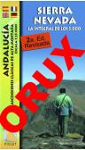 Sierra Nevada. La integral de los 3000. Andalucía. Ascensiones clásicas de alta montaña. Digital OruxMaps 1:25.000 2a ed