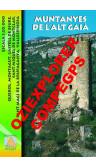 Muntanyes de l'Alt Gaià. Digital CompeGps/Oziexplorer 1:20.000 1a ed