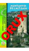 Muntanyes de l'Alt Gaià. Digital OruxMaps 1:20.000 1a ed