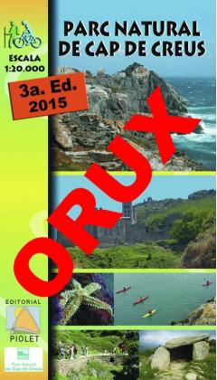 Parc Natural de Cap de Creus. Digital OruxMaps 1:20.000 3a ed