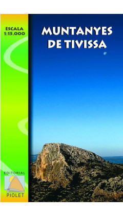 Mapa Muntanyes de Tivissa 1:15.000 1a ed