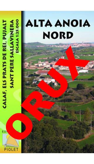 Alta Anoia Nord. Calaf, Els Prats de Rei, Pujalt, Sant Pere Sallavinera. Digital OruxMaps 1:25.000