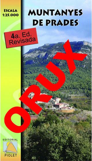 Muntanyes de Prades. Digital OruxMaps 1:25.000 4a ed