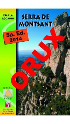 Serra de Montsant. Digital OruxMaps 1:20.000 5a ed