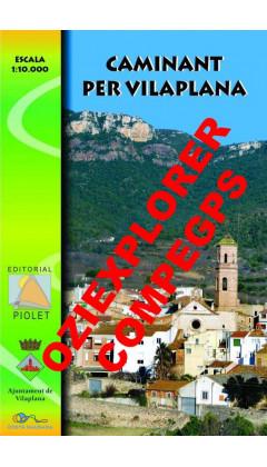Caminant per Vilaplana. Digital CompeGps/Oziexplorer 1:10.000 1a ed