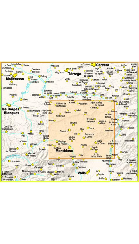Mapa La Ruta del Cister 1:30.000 1a ed