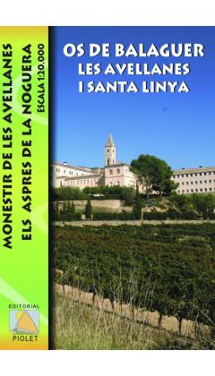 Mapa Os de Balaguer, Les Avellanes i Santa Linya 1:20.000 1a ed