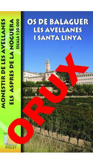 Os de Balaguer, Les Avellanes i Santa Linya. Digital OruxMaps 1:20.000 1a ed
