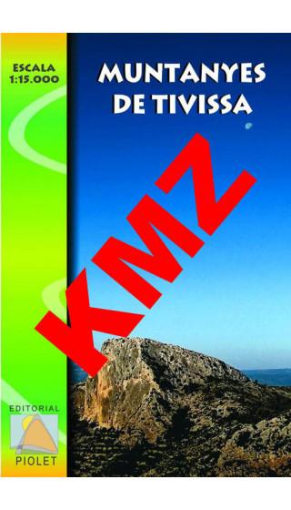 Muntanyes de Tivissa. Digital Kmz (Garmin, Google Earth) 1:15.000 1a ed