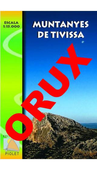 Muntanyes de Tivissa. Digital OruxMaps 1:15.000 1a ed