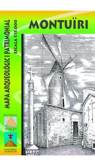 Montuïri. Mapa arqueòlogic i patrimonial 1:15.000 1a ed