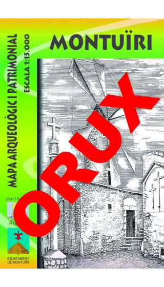 Montuïri. Mapa arqueòlogic i patrimonial. Digital OruxMaps 1:15.000 1a ed