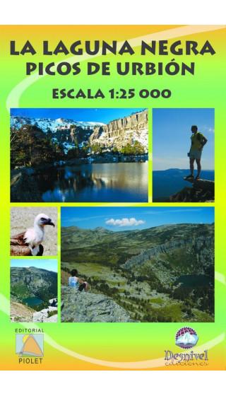 Mapa La Laguna Negra. Picos de Urbión 1:25.000 1a ed