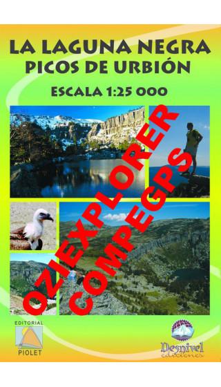 La Laguna Negra. Picos de Urbión. Digital CompeGps/Oziexplorer 1:25.000 1a ed