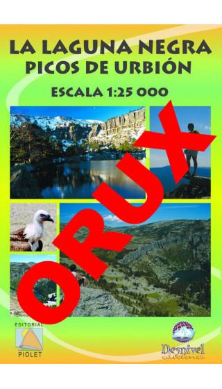 La Laguna Negra. Picos de Urbión. Digital OruxMaps 1:25.000 1a ed