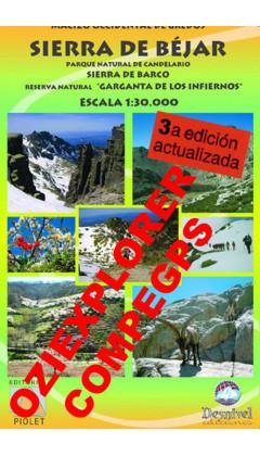 Sierra de Béjar. Parque Natural de Candelario. Sierra de Barco. Reserva Natural 'Garganta de los Infiernos'. Digital CompeGps/Oz