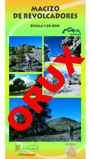 Macizo de Revolcadores. Digital OruxMaps 1:20.000 1a ed