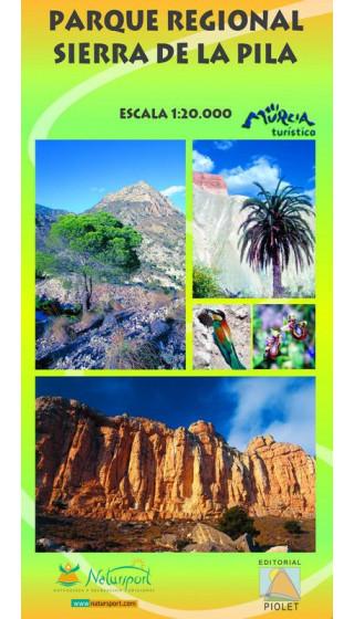 Mapa Parque Regional Sierra de la Pila 1:20.000 1a ed