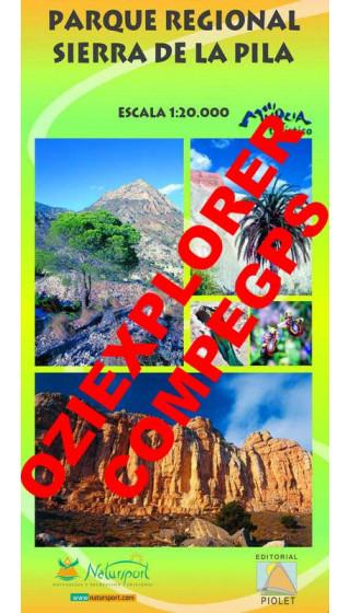 Parque Regional Sierra de la Pila Digital CompeGps/Oziexplorer 1:20.000 1a ed