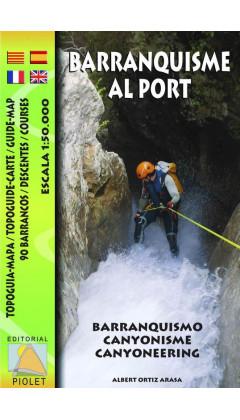 Mapa Barranquisme al Port. Topoguia-Mapa. 90 Barrancos 1:50.000 1a ed