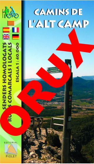Camins de l'Alt Camp. Digital OruxMaps 1:40.000  1a ed