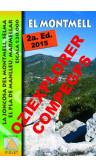 El Montmell. La Joncosa del Montmell, Selma, El Pla de Manlleu, Marmellar. Digital CompeGps/Oziexplorer 1:20.000 2a ed
