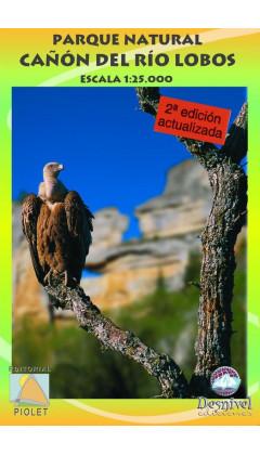 Mapa Parque Natural Cañon del Río Lobos 1:25.000 2a ed