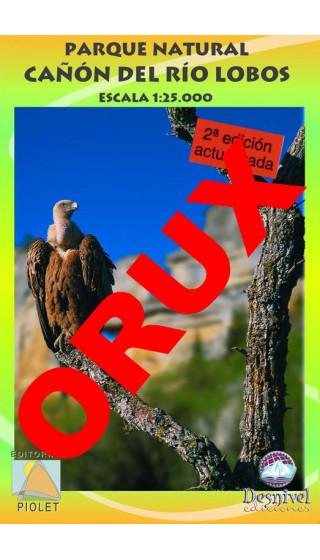 Parque Natural Cañon del Río Lobos. Digital OruxMaps 1:25.000 2a ed
