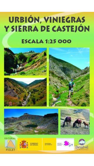Mapa Urbión, Viniegras y Sierra de Castejón 1:25.000 1a ed