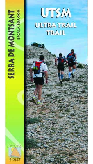 UTSM. Ultra Trail Serra de Montsant 1:35.000 1a ed