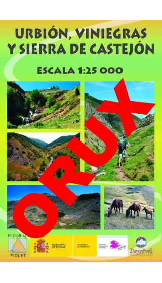 Urbión, Viniegras y Sierra de Castejón. Digital OruxMaps 1:25.000 1a ed